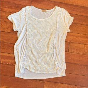 Lavish white top